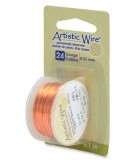 HILO COBRE ARTISTIC WIRE 0,51 MM 9,1 METROS : color:Natural