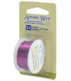 HILO COBRE ARTISTIC WIRE 0,51 MM 9,1 METROS : color:Púrpura