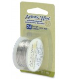 HILO COBRE ARTISTIC WIRE 0,51 MM 9,1 METROS : color:Tinned Copper