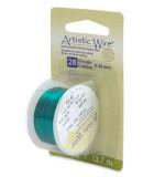 HILO COBRE ARTISTIC WIRE 0,32 MM 13,7 METROS : color:Verde