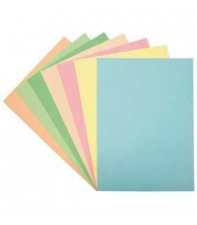 Cartulinas de colores claro A4 180 gsm 50 ud