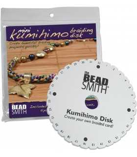 KUMIHIMO DISCO DE 10,8 CM PARA HACER CORDONES.