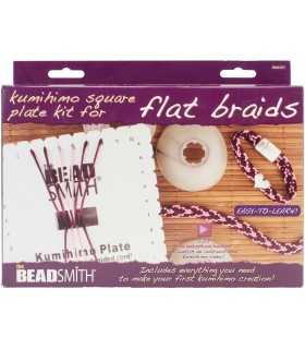 KIT KUMIHIMO TRENZADO CORDONES PLANOS BEAD SMITH