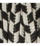 SOUTACHE BEAD SMITH RAYON 3 MM 2,7 METROS : SOUTACHE RAYON:1230 SILVER GREY BL