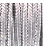 SOUTACHE BEAD SMITH RAYON 3 MM 2,7 METROS : SOUTACHE RAYON:1250 ANT. SILVER MET