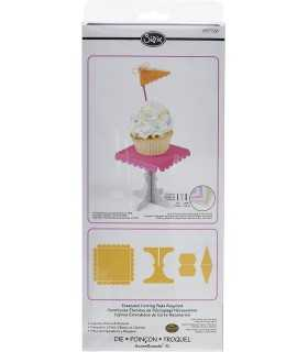 TROQUEL BIGZ XL SIZZIX STAND EXPOSITOR CUPCAKES