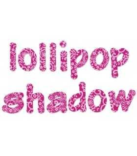 "TROQUEL BIGZ SIZZIX ABECEDARIO lollipop shadow  2"""