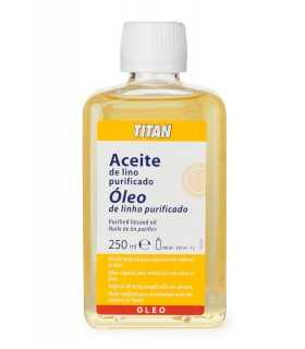 ACEITE DE LINO PURIFICADO TITÁN 250 ML