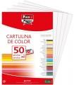 Cartulinas de color Blanco A4 180 gsm 50 ud