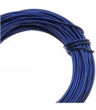 HILO ALUMINIO MODELABLE 12 GAUGE 2 MM 12 METROS : ALUMINIUM WIRE:B BLUE
