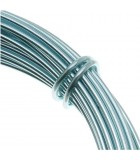 HILO ALUMINIO MODELABLE 12 GAUGE 2 MM 12 METROS : ALUMINIUM WIRE:IB ICE BLUE