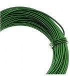 HILO ALUMINIO MODELABLE 12 GAUGE 2 MM 12 METROS : ALUMINIUM WIRE:KG KELLY GREEN