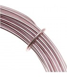 HILO ALUMINIO MODELABLE 12 GAUGE 2 MM 12 METROS : ALUMINIUM WIRE:RO ROSE