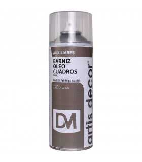 BARNIZ SPRAY ÓLEO CUADROS MATE  ARTIS DECOR 400 ML