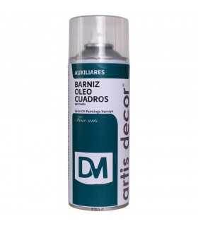 BARNIZ SPRAY ÓLEO CUADROS SATIN ARTIS DECOR 400 ML