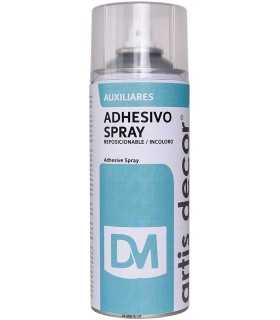 ADHESIVO SPRAY REPOSICIONABLE ARTIS DECOR 400ml