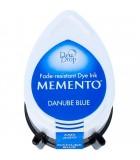 TAMPÓN TINTA TSUKINEKO MEMENTO DEW DROP 32x50 MM : MEMENTO TSUKINEKO:600 DANUBE BLUE
