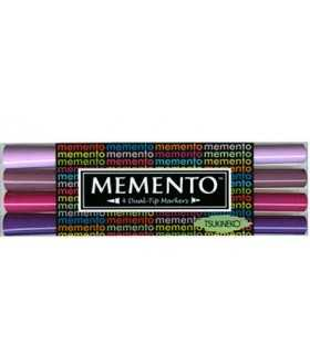 SET 4 ROTULADORES MEMENTO JUICY PURPLE