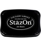 STAZON TAMPÓN TINTA MULTISUPERFICIE SECADO RÁPIDO : STAZON:31 BLACK