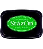 STAZON TAMPÓN TINTA MULTISUPERFICIE SECADO RÁPIDO : STAZON:52 CACTUS GREEN