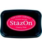 STAZON TAMPÓN TINTA MULTISUPERFICIE SECADO RÁPIDO : STAZON:81 CHERRY PINK