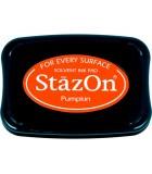 STAZON TAMPÓN TINTA MULTISUPERFICIE SECADO RÁPIDO : STAZON:92 PUMPKIN