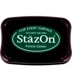 STAZON TAMPÓN TINTA MULTISUPERFICIE SECADO RÁPIDO : STAZON:99 FOREST GREEN