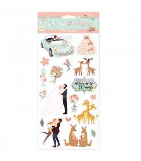 DIE CUTS STAMPERIA LOVE STORY JOHANNA RIVERO 15x30