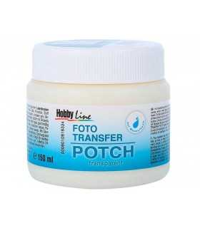 FOTO TRANSFER POTCH TRANSPARENTE 150 ML
