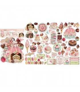 DIE CUTS SWEETY 59 UNIDADES