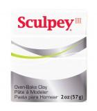 SCULPEY III PASTILLA MODELAR 56GR. PRIMERA PARTE. : Unidades:1 unidad, color:001 Blanco