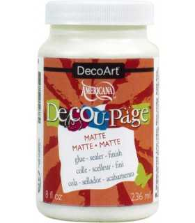 BARNIZ COLA DECOUPAGE MATE DECOART 236 ML