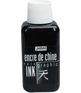 INDIA INK TINTA CHINA NEGRA PEBEO GRAPHIC 250ML.