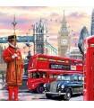 SERVILLETAS AMBIENTE 33x33cm 20UD LONDON STREET