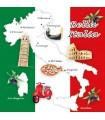 SERVILLETAS AMBIENTE 33x33cm 20UD BELLA ITALIA