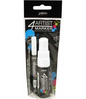 SET DUO 4ARTIST MARKER PEBEO BLANCO 2 Y 8 MM