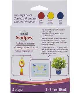 SCULPEY LIQUIDO MULTIPACK PRIMARIOS 3X29ML