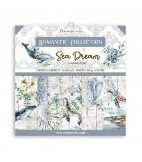 PAPELES SCRAP 10ud 12x12 ROMANTIC SEA DREAM