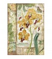 PAPEL ARROZ A4 STAMPERIA 21x29CM AMAZONIA ORCHID