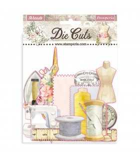 DIE CUTS THREADS 44 UNIDADES
