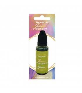 JEWEL ALCOHOL INK GREEN 18 ML STAMPERIA