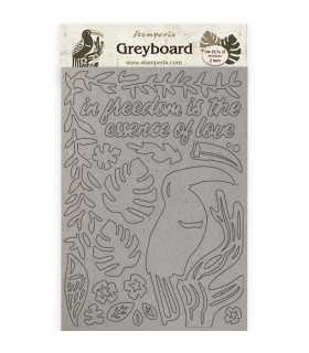 FORMAS GREYBOARD A4 AMAZONIA TUCAN