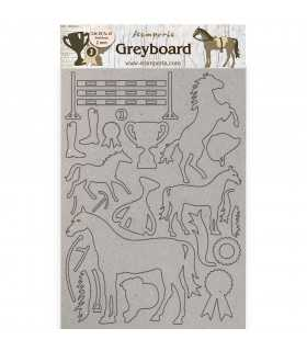 FORMAS GREYBOARD A4 HORSES TROPHY