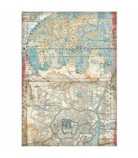 PAPEL ARROZ STAMPERIA A4 21x29CM MAP