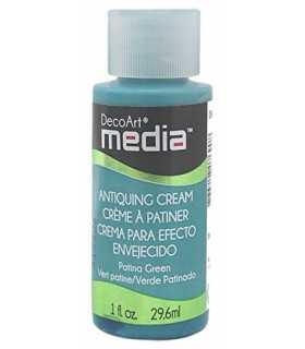 DECOART MEDIA CREMA ENVEJECIDO VERDE PATINADO 29ml