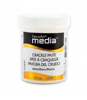 DECOART MEDIA PASTA CRAQUELADO BLANCO  118 ML