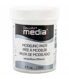 DECOART MEDIA PASTA MODELADORA BLANCO 118 ML