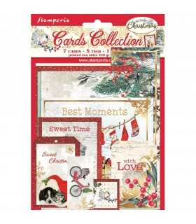 CARDS COLLECTION ROMANTIC CHRISTMAS