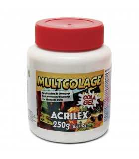 MULTCOLAGE ACRILEX 250 GR COLA GEL