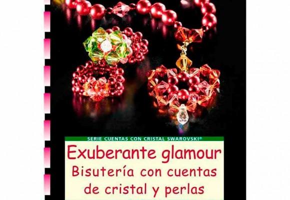 Regalo libro Exuberante Glamour, Bisutería con cuentas de cristal y perlas